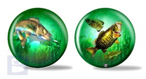 Viz-a-Ball Game Fish Glow
