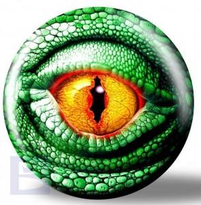Viz-a-Ball Lizard Eye Glow