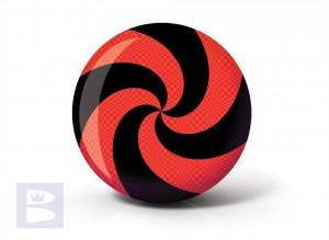 Viz a Ball Spiral Red Bl
